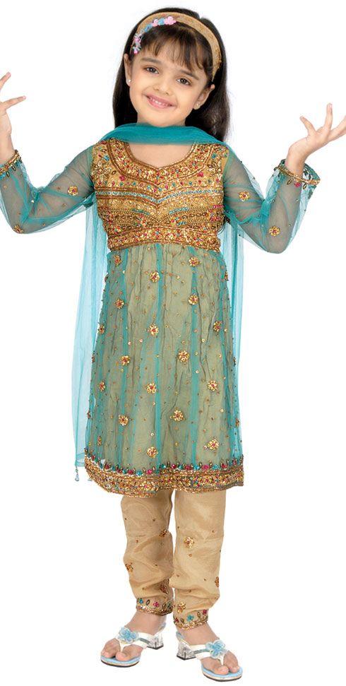 ملابس هندية للاطفال 2015 ملابس