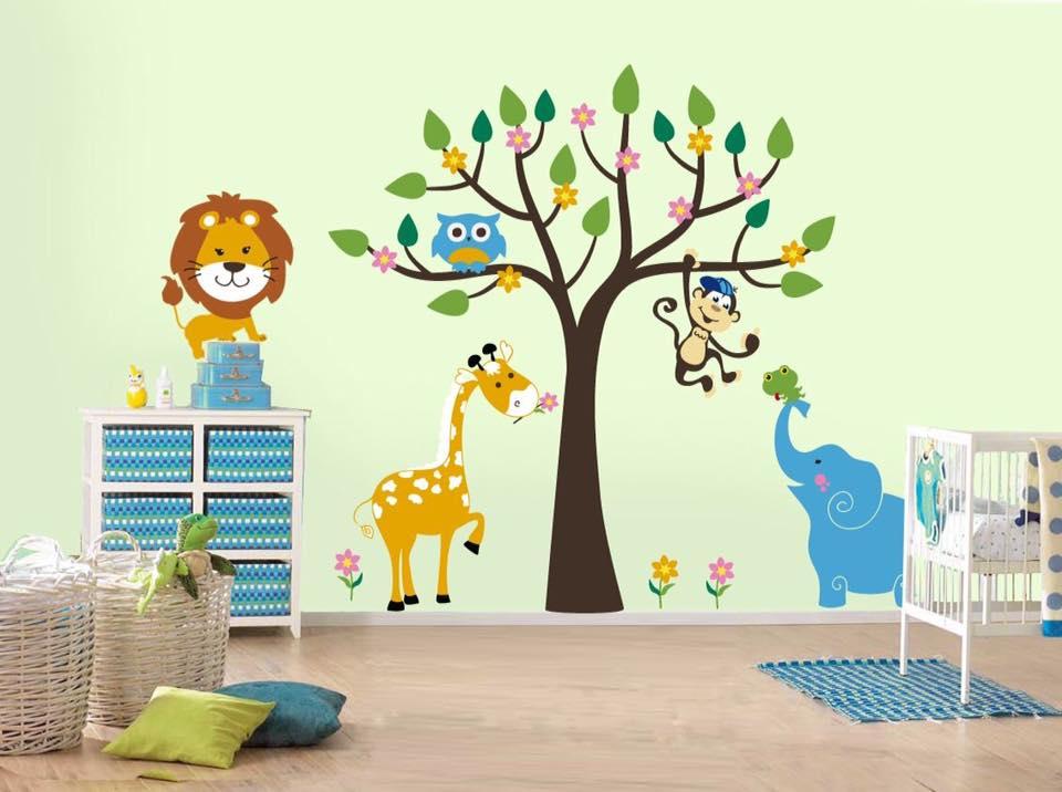 صور رسومات حوائط وورق حائط والوان حوائط جديدة (17)