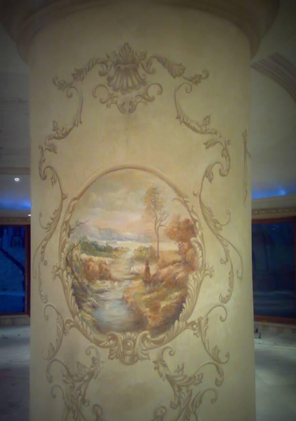 صور رسومات حوائط وورق حائط والوان حوائط جديدة (29)