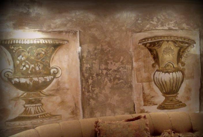 صور رسومات حوائط وورق حائط والوان حوائط جديدة (30)