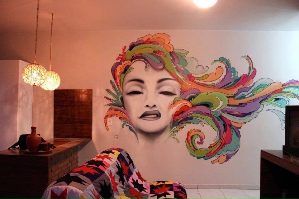 صور رسومات حوائط وورق حائط والوان حوائط جديدة (42)