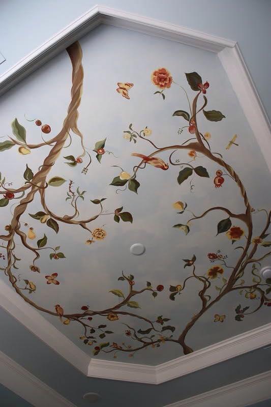 صور رسومات حوائط وورق حائط والوان حوائط جديدة (61)