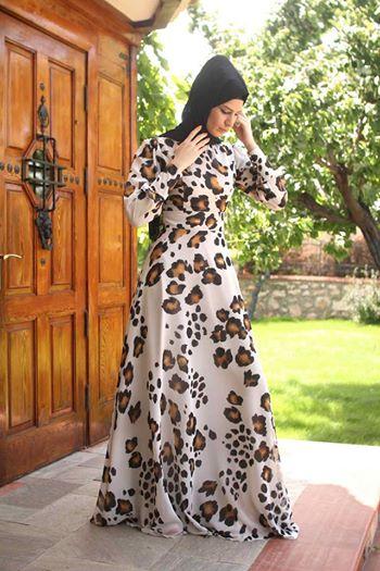 ملابس محجبات موضة 2016 للبنات المحجبات فاشون وازياء جديدة (50)