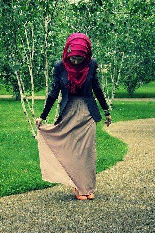 ملابس محجبات موضة 2016 للبنات المحجبات فاشون وازياء جديدة (70)