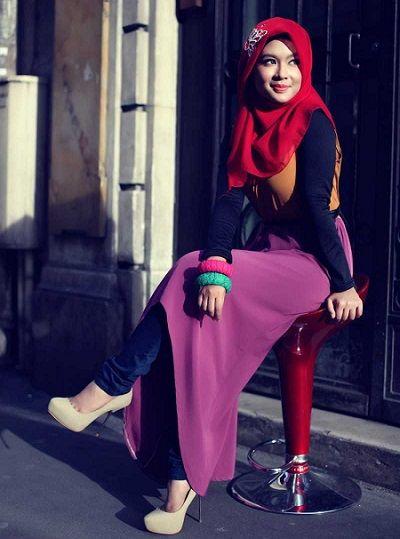 ملابس محجبات موضة 2016 للبنات المحجبات فاشون وازياء جديدة (74)