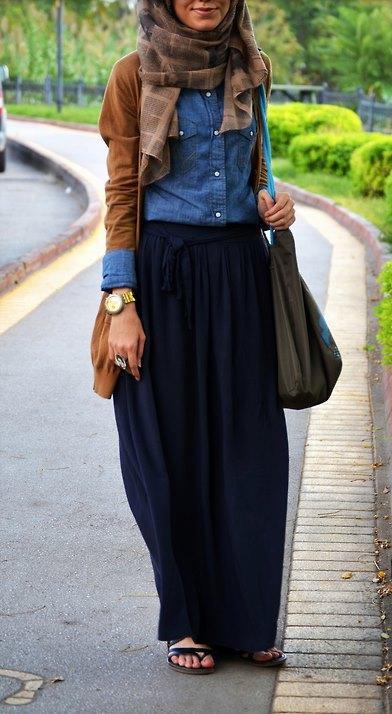ملابس محجبات موضة 2016 للبنات المحجبات فاشون وازياء جديدة (94)