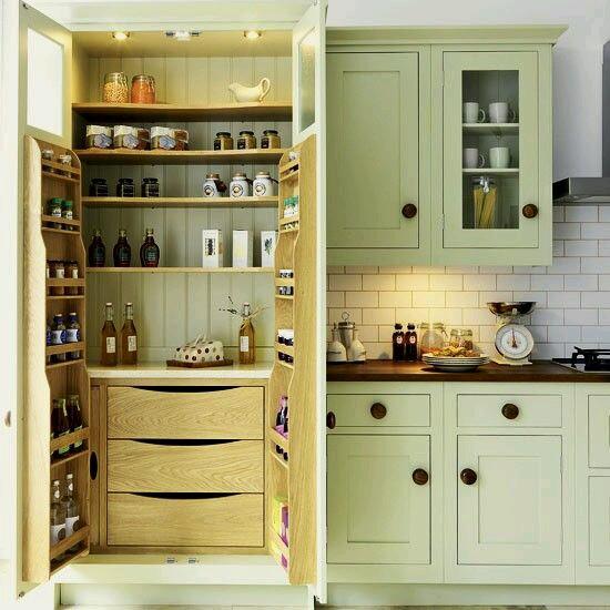Contemporary Kitchen Storage Systems: ديكورات مطابخ مودرن فخمة باشكال جديدة 2016