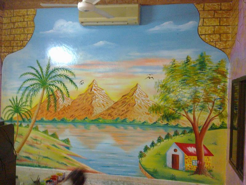 صور رسم علي الحوائط ورسم علي الجدران (22)