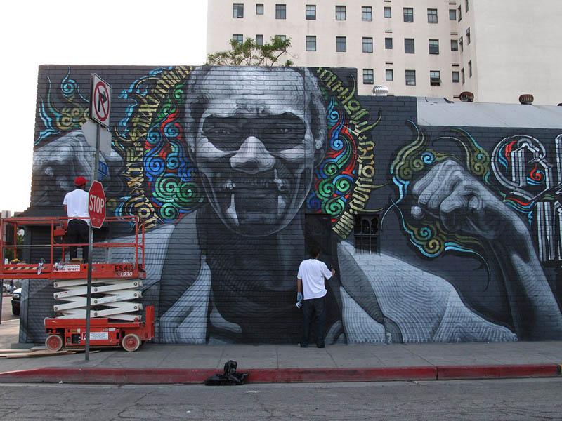 صور رسم علي الحوائط ورسم علي الجدران (25)