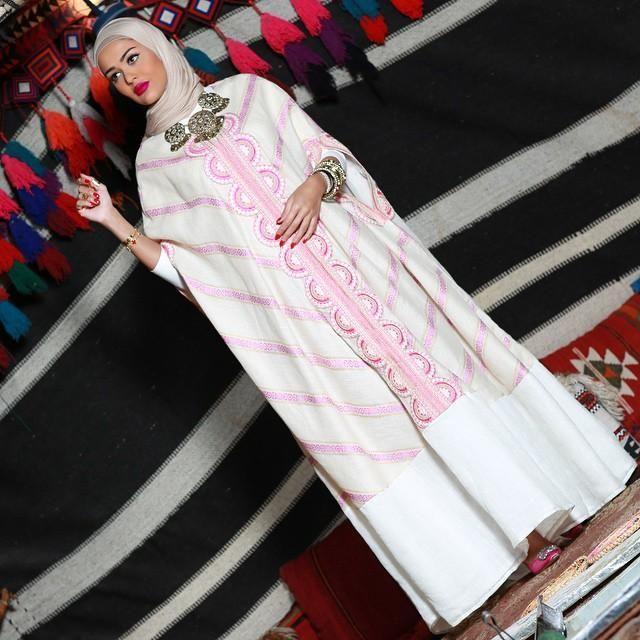 صور احدث موضة ازياء المحجبات لبس محجبات تركي مودرن (12)