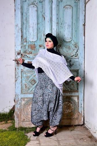 صور احدث موضة ازياء المحجبات لبس محجبات تركي مودرن (17)