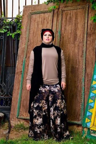 صور احدث موضة ازياء المحجبات لبس محجبات تركي مودرن (19)