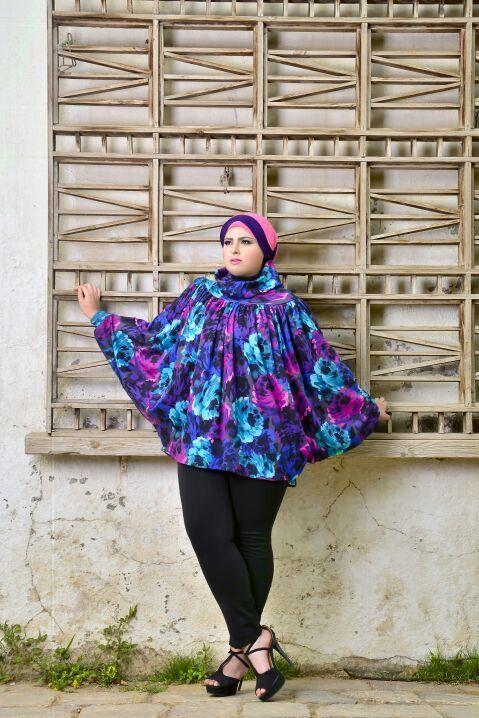 صور احدث موضة ازياء المحجبات لبس محجبات تركي مودرن (22)