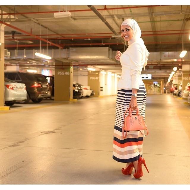 صور احدث موضة ازياء المحجبات لبس محجبات تركي مودرن (3)