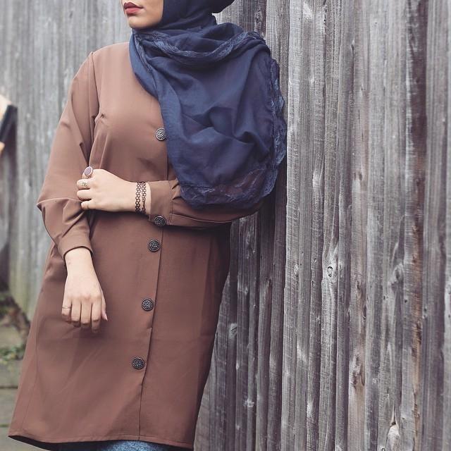 صور احدث موضة ازياء المحجبات لبس محجبات تركي مودرن (35)