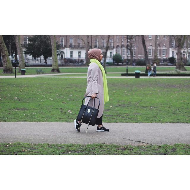 صور احدث موضة ازياء المحجبات لبس محجبات تركي مودرن (36)