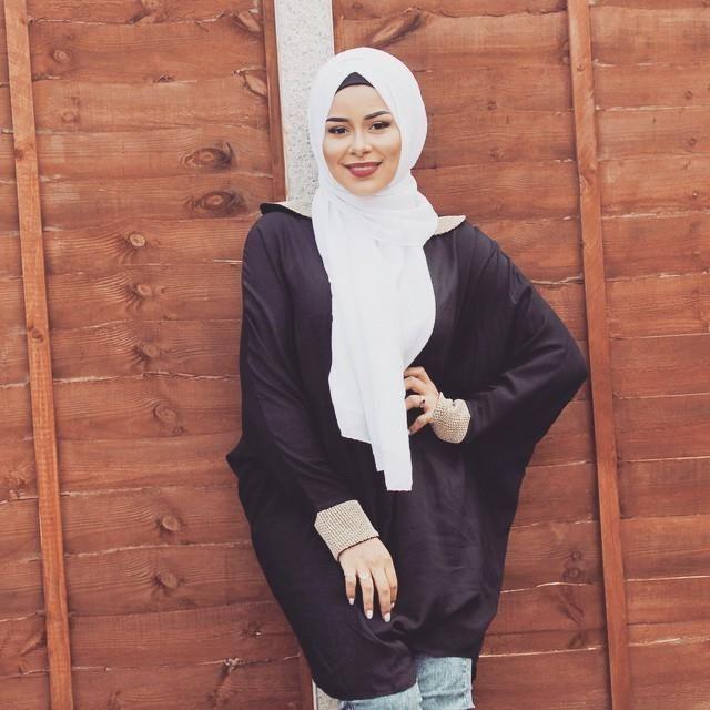 صور احدث موضة ازياء المحجبات لبس محجبات تركي مودرن (40)
