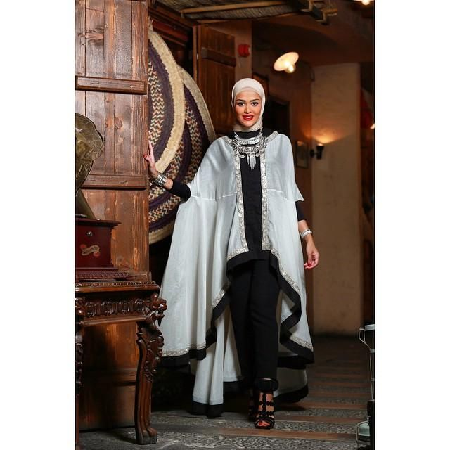 صور احدث موضة ازياء المحجبات لبس محجبات تركي مودرن (5)