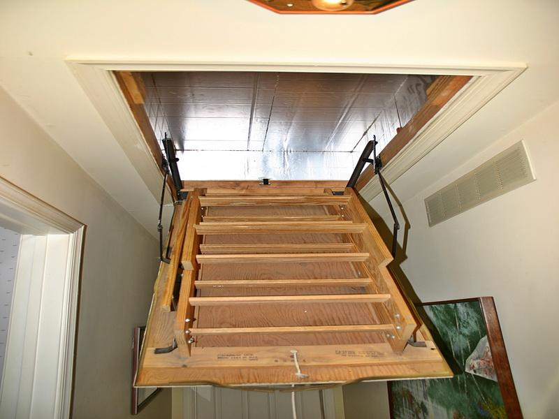 High Quality Garage Attic Ladders 9 Fire Rated Pull Down Attic Ladder likewise 22 Modern Innovative Staircase Ideas further Watch also How To Build A Full Size Loft Bed With Desk additionally Dremel 120 Volt Variable Speed Rotary Kit. on attic ladders home depot