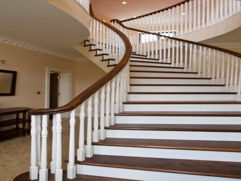 صور سلالم ودرج باشكال الدرج المختلفة داخلي وخارجي (18)