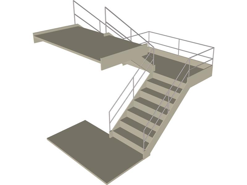 صور سلالم ودرج باشكال الدرج المختلفة داخلي وخارجي (6)