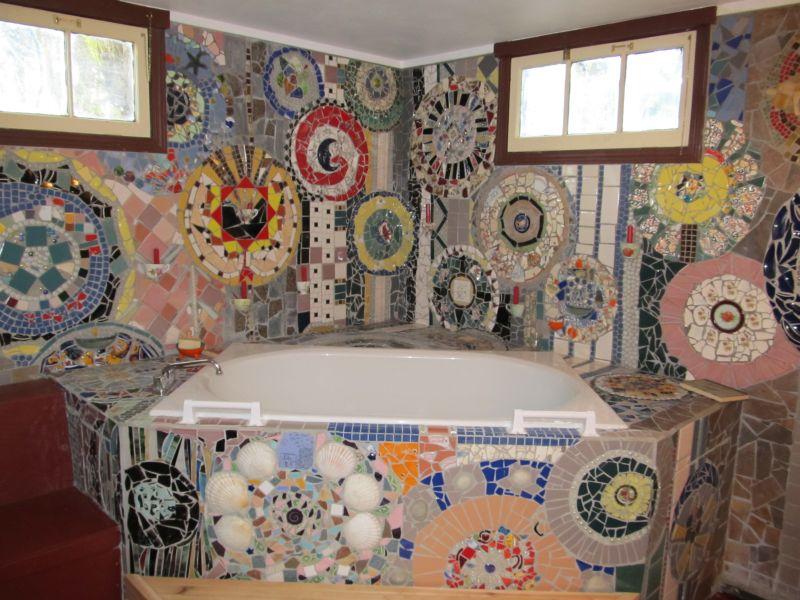 صور حمامات جاكوزي فخمة مودرن شيك للفلل والقصور (53)