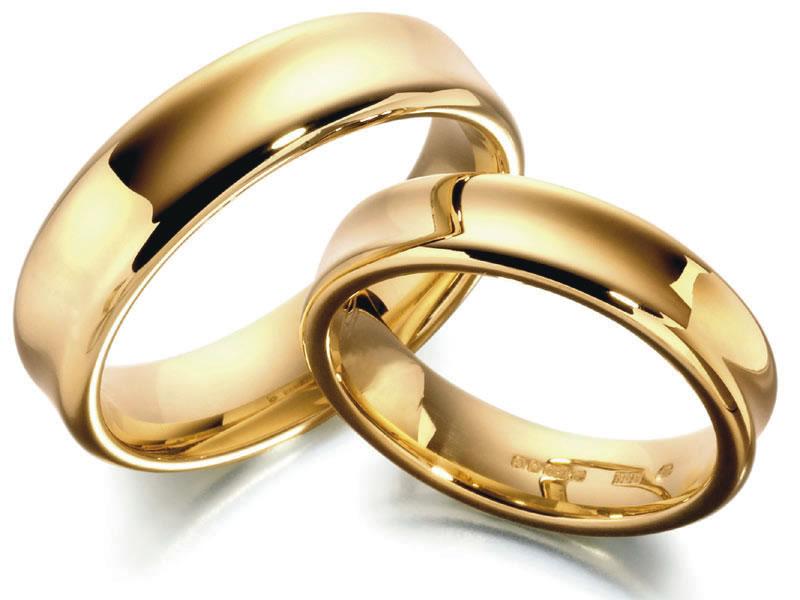 صور خواتم زواج ذهب والماس فخمة مودرن شيك (28)