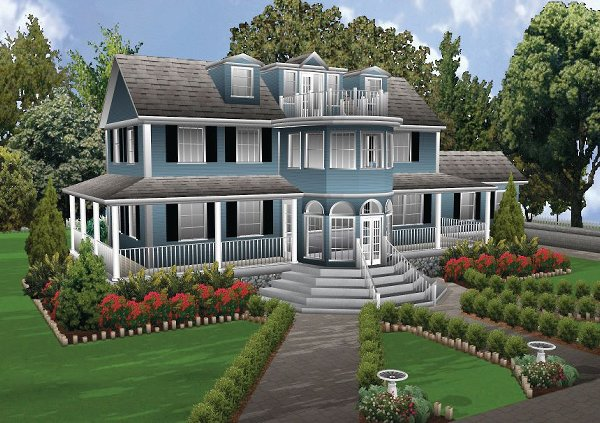 تصاميم فلل ومنازل من الخارج 2016 تصميمات بيوت مودرن (20)