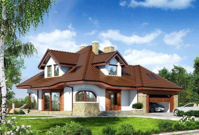 تصاميم فلل ومنازل من الخارج 2016 تصميمات بيوت مودرن (23)