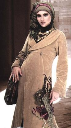 صور ملابس حوامل مودرن محجبات 2016  (18)