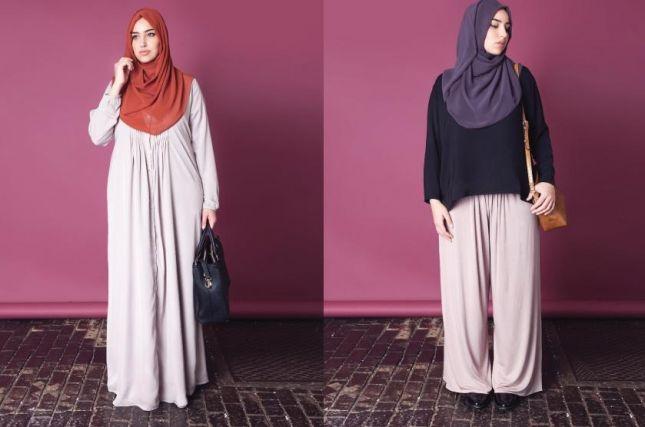 صور ملابس حوامل مودرن محجبات 2016  (23)