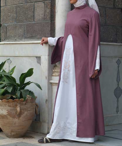 صور ملابس حوامل مودرن محجبات 2016  (4)