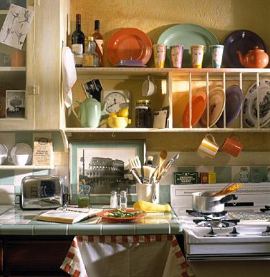 صور ارفف مطابخ اشكال وتصاميم رفوف المطبخ (19)