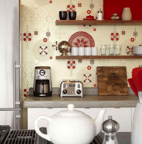 صور ارفف مطابخ اشكال وتصاميم رفوف المطبخ (2)