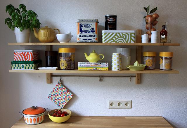 صور ارفف مطابخ اشكال وتصاميم رفوف المطبخ (22)
