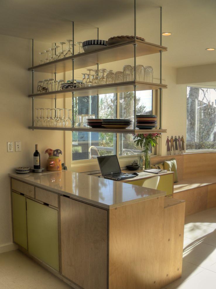 صور ارفف مطابخ اشكال وتصاميم رفوف المطبخ (26)