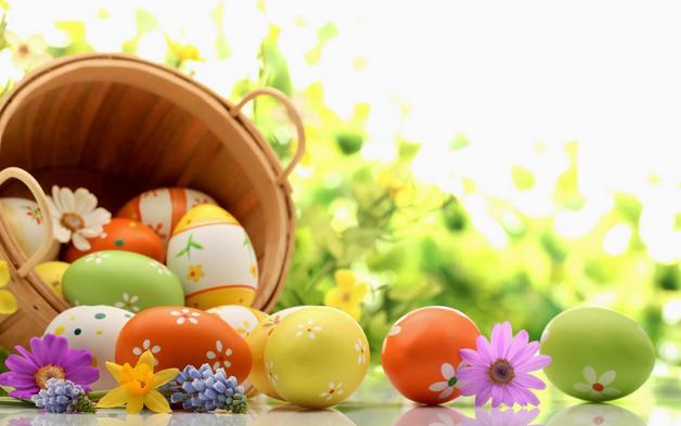 صور بيض ملون لشم النسيم طريقة تلوين البيض (1)