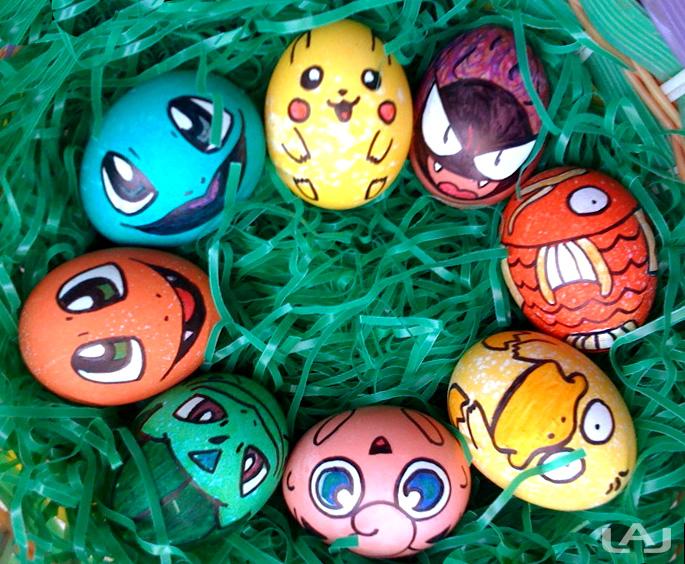 صور بيض ملون لشم النسيم طريقة تلوين البيض (25)
