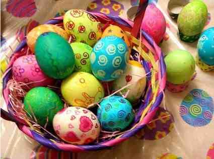صور بيض ملون لشم النسيم طريقة تلوين البيض (3)