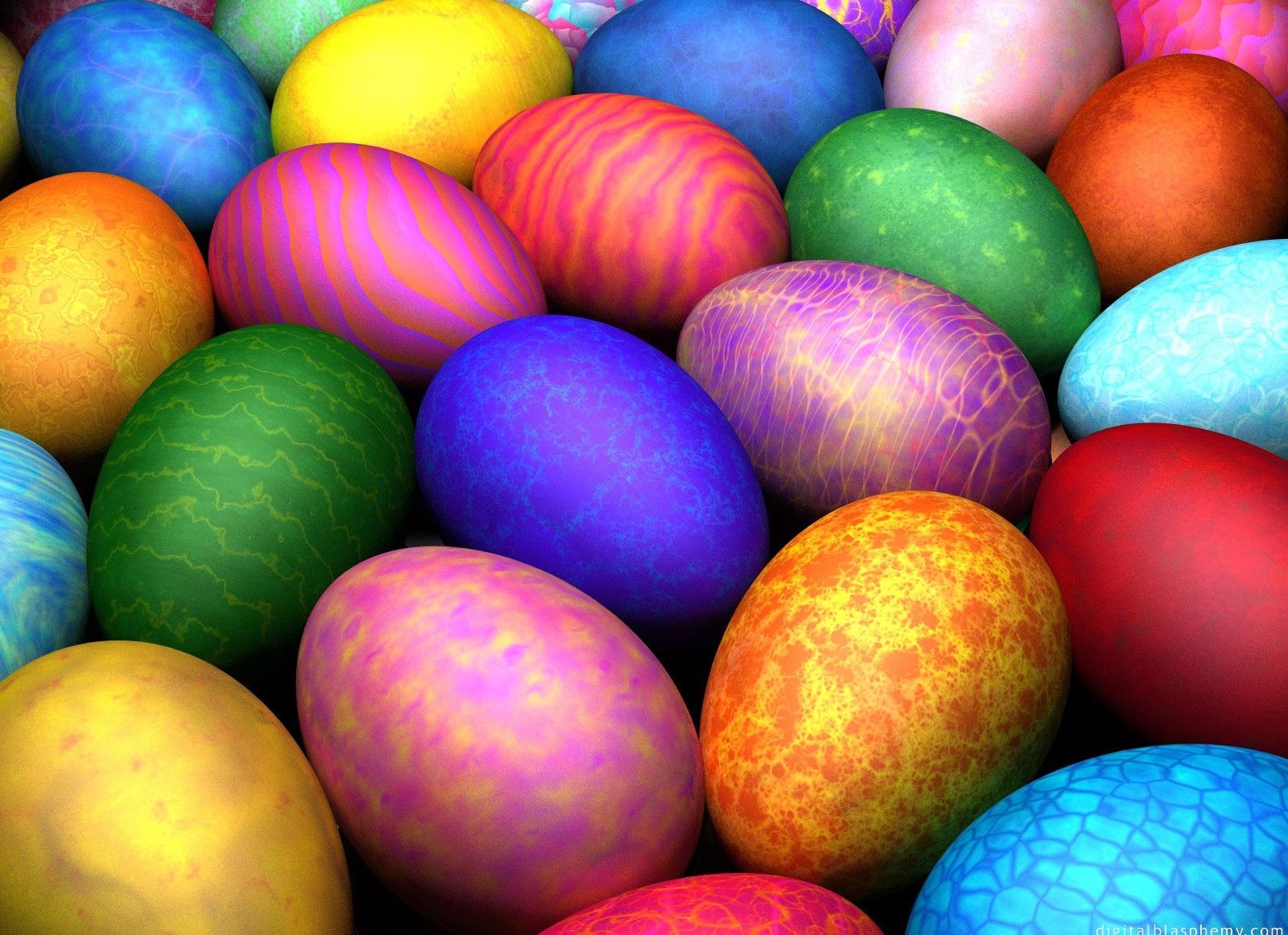 صور بيض ملون لشم النسيم طريقة تلوين البيض (7)