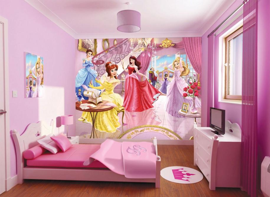 صور ديكورات غرف نوم اطفال 2016 بدهانات والوان مودرن (16)