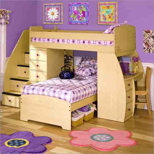 صور ديكورات غرف نوم اطفال 2016 بدهانات والوان مودرن (22)