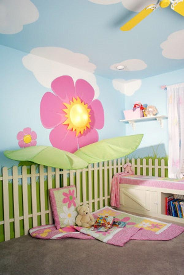 صور ديكورات غرف نوم اطفال 2016 بدهانات والوان مودرن (27)