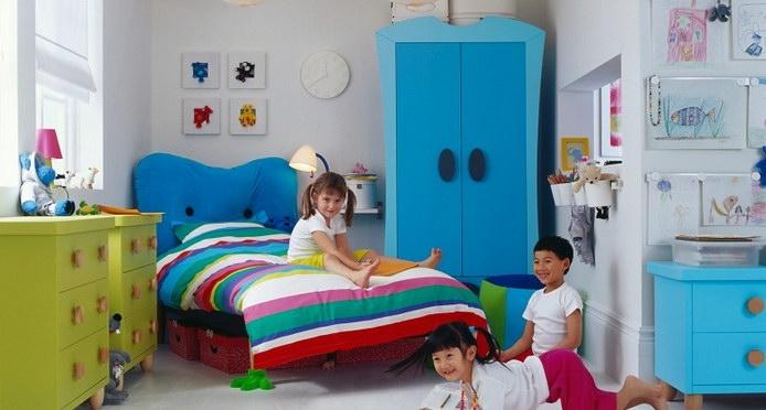 صور ديكورات غرف نوم اطفال 2016 بدهانات والوان مودرن (5)