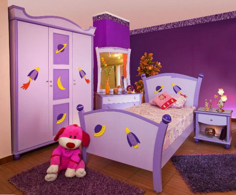 صور ديكورات غرف نوم اطفال 2016 بدهانات والوان مودرن (7)
