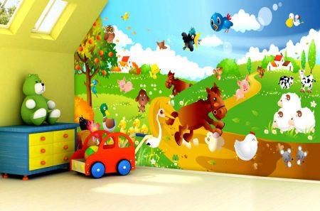 صور أوراق حائط لغرف الأطفال بجودة HD (12)