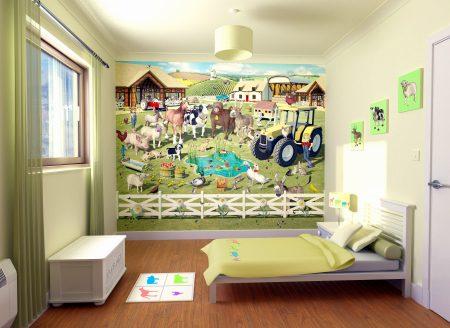 صور أوراق حائط لغرف الأطفال بجودة HD (4)