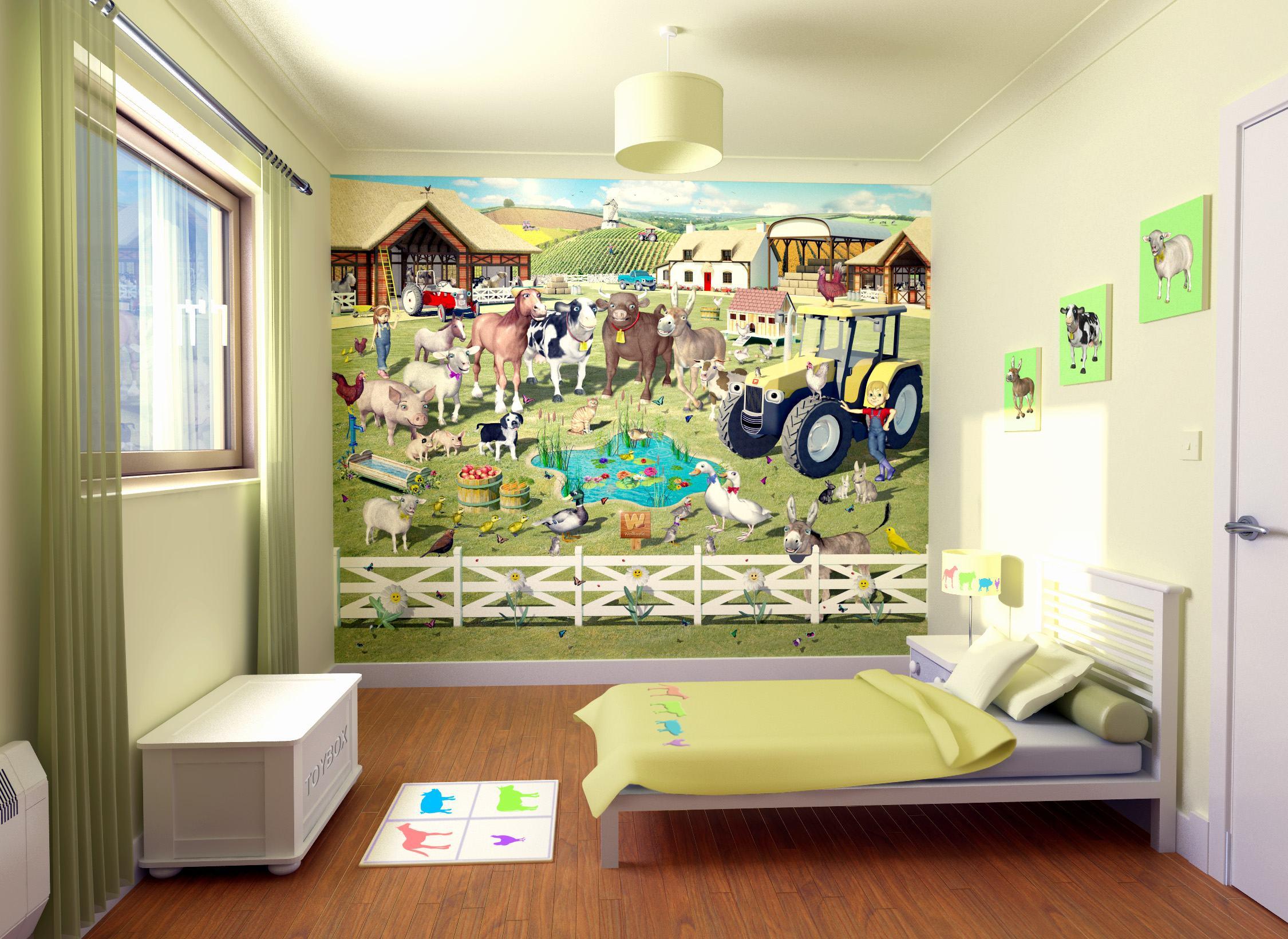صور أوراق حائط لغرف الأطفال بجودة HD (9)