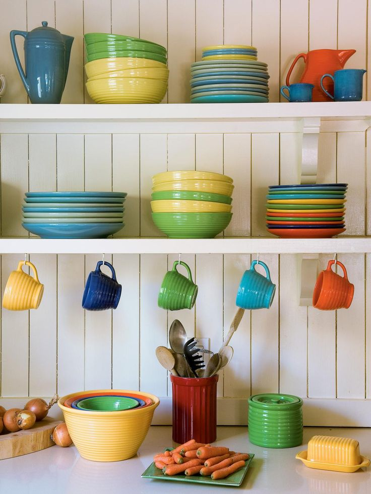 صور اطباق وصحون تقديم ملونة وسادة مودرن شيك (9)