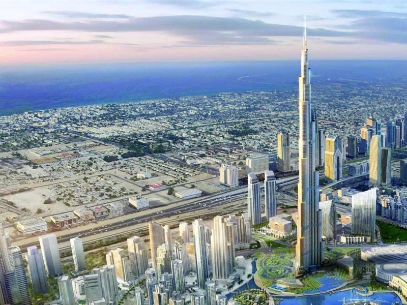 صور برج خليفة خلفيات ورمزيات عن برج خليفة بجودة HD (13)